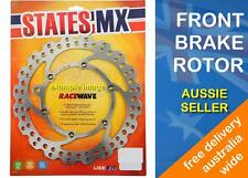 DIRTBIKE FRONT BRAKE DISC ROTOR WAVE TYPE fits YAMAHA WR450F 2003 to 2015