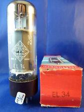 EL34 Telefunken # OO-Getter # NOS/NIB # 117mA (100mA=100%)  (8619)