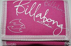 Billabong Unisex Canvas Note Coin Credit Card Holder ID Wallet Purse ***NEW***