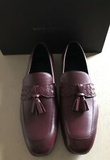 NIB $990 Bottega Veneta Mens Leather Shoes Brown/Burgundy 12 US ( 45 Eu )
