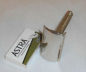 Star 1930–1940 Safety Double Edge Razor Cleaned And Polished Worldwide Shipping