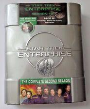 Star Trek Enterprise: The Complete Second Season 2 (DVD, 2005) w/ Bonus Disc