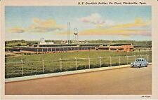 1940's B.F. Goodrich Rubber Co. Plant in Clarksville, TN Tennessee PC