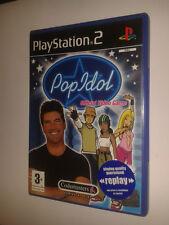* Sony Playstation 2 Game * POP IDOL * PS2