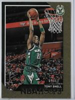 2018-19 NBA Hoops Tony Snell Gold Parallel SSP 02/10