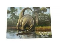 Creation Museum 2009 Set 4 Dinosaur Sauropod Job 40:15  Notecards with Envelopes
