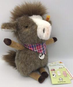 "Steiff ""MINI HORSILEE.   Original. From The Happy Farm! Great Christmas Gift!"