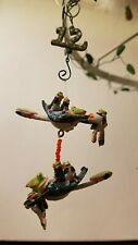 Krinkles Patience Brewster Twelve Lords Leaping Ornament 12 Days Christmas Frogs