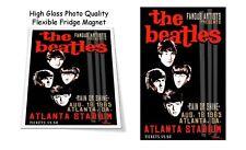 "The Beatles 1965 Atlanta Concert Poster 3""X4"" FRIDGE MAGNET"