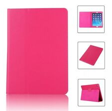 HOT PINK Magnetic Case Flip Thin Leather Stand Cover For Apple iPad 6 Gen 9.7
