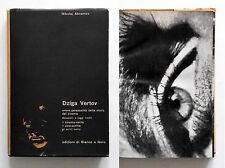 Dziga Vertov di Nikolaj Abramov Edizioni di Bianco e Nero 1963 Ottimo