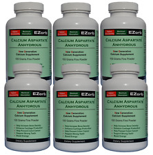 EZorb Calcium Powder (6) Absorbs 92%, Bone, Joint, Muscle, Health Save $26.60