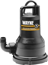 Wayne Vip50 12 Hp Thermoplastic Portable Electric Water Removal Pump New