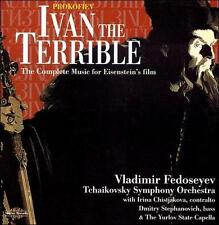 Prokofiev: Ivan the Terrible - The complete music for Eisenstein's film, New Mus