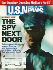 2006 U.S. News & World Report Magazine: The Spy Next Door/Police Departments