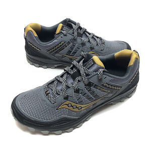 Saucony Men's Excursion TR12 Running Show Silver And Gold Size 11 S20451-5