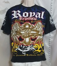 ROYAL REPUBLIC CLOTHING COMPANY GRAPHIC TEE Size Large (16-18) Bold Graphics.