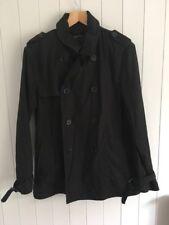 Cedarwood Black Jacket Coat Size L