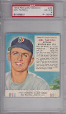 1953 Red Man Tobacco Mel Parnell #25 - Boston Red Sox - PSA 4 VG-EX
