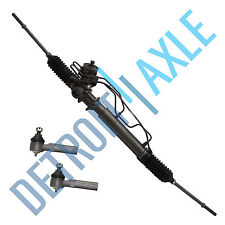 Complete Rack and Pinion + 2 NEW Front Outer Tie Rod for Mercury Nissan
