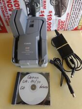 Canon imageFORMULA CR-50 Check Scanner; Fully Tested, Less Than 21K Scanned!