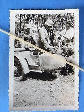 Foto NSU moto Krad carrozzetta alleanza Krad rilevatore di crittoanalisti rifor I. terreno