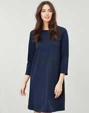Joules Womens Layla A-Line Dress - French Navy - 20