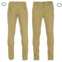 Genuine Mens Kangol Chino Trousers Classic Pants Size Waist 30R 32R 34R