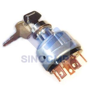 SH200 Ignition Switch KHR3077 For Sumitomo Excavator Loader Parts