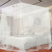Large White Camping Indoor Outdoor Netting Storage Bag Insect Tent Mosquito Net-