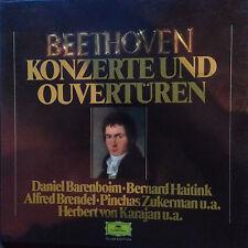 Beethoven | Konzerte und Ouvertüren | 8 LP-Box | Deutsche Grammophon und Philips