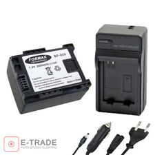 BP-809 BP809 Battery + CHARGER /for Canon HF S30 HF M406 HF G25 XA10 HF200 HF100
