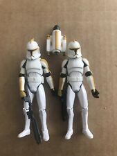 2x Clone Troopers, The Clone Wars, Loose