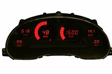 1994-2004 Ford Mustang Digital Dash Panel Red LED Gauges Made In The USA