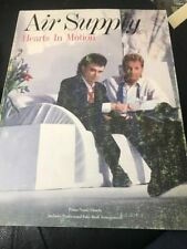 Air Supply Hearts in Motion Songbook Sheet Music Song Book Plus Fake Notes