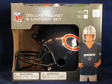CHICAGO BEARS Halloween Costume - Kids Football SMALL Deluxe Youth UNIFORM SET