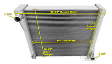 3 Row Performance Champion Radiator for 1941 Jeep Willys