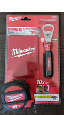 Milwaukee 16 ft Magnetic Tape Measure + 2 Coozies + Bottle Opener Collectible