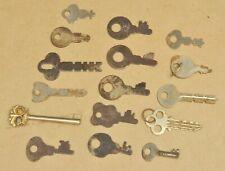 Vtg Corbin Presto National Lock Eagle Skeleton Flat Key Lot Vending Slot Machine