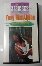 Video VHS - Tony MacAlpine - Star Licks Sessions - Tab Book (VG) WORLDWIDE