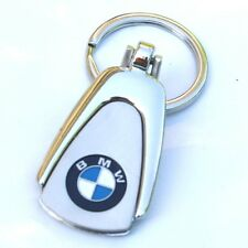 KEY CHAIN KEYCHAIN RING BMW 128i 323I 328 330 M3 M5 M6 X3 X5 X6 Z3 Z4 M5 Chrome