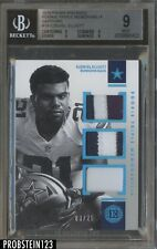 2016 Panini Encased Sapphire Ezekiel Elliott Cowboys RC Patch /25 BGS 9