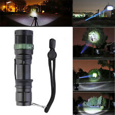 Ultrafire 5000Lumens XM-L T6 Tactical Zoomable 18650 LED Flashlight Torch Lamp