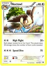 2x Pokemon XY BREAKthrough Noctowl 120/162 Rare Card