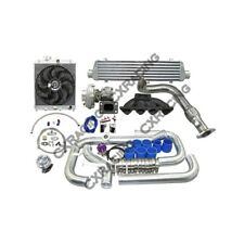 Turbo Intercooler Radiator Kit For 96-00 Honda Civic EK B16 B18 B20 B-Series
