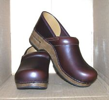 DANSKO 42 Espresso Oiled Leather Occupational Professional Shoes Clogs 306067878
