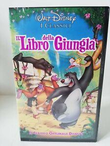 VHS Il Libro della Giungla - 1993 - Classico Originale Disney - Sigillato
