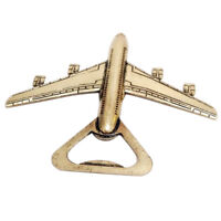 Key Chain Beer Bottle Can Opener Beverage Airplane Shape Ring Bar Pocket Tool