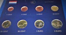 PAYS BAS  2005 : SERIE 8 MONNAIES 1 CENT à 2 € - UNC