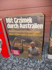 Mit Grzimek durch Australien, von Bernhard Grzimek
